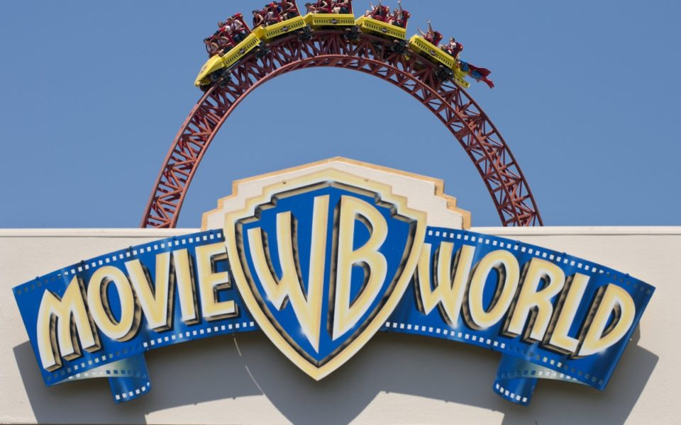 Movie World Rollercoaster Passengers Freed From Top Of Ride