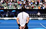Rafael Nadal minute's silence