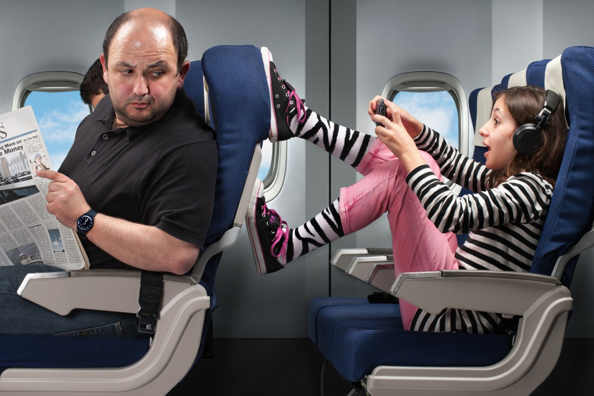 Parents who don't control their unruly children were a major peeve for fellow passengers. Photo: Getty