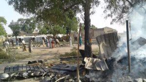 Nigerian jet bombs camp