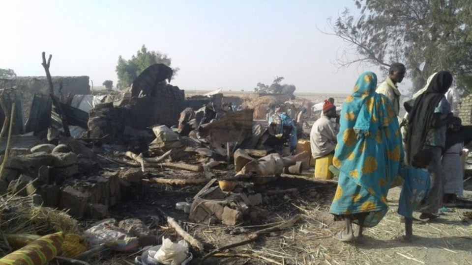 Nigerian Refugee camp bombing