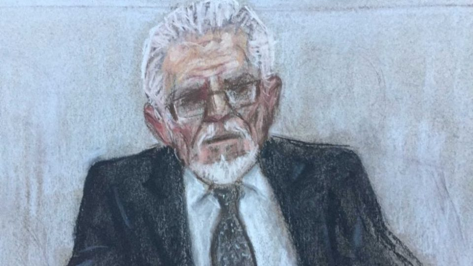 Rolf Harris 'assaulted girl standing inches away from her mother'