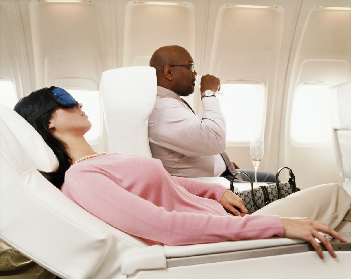 Some felt reclining your seat immediately after takeoff was a faux pas. Photo: Getty