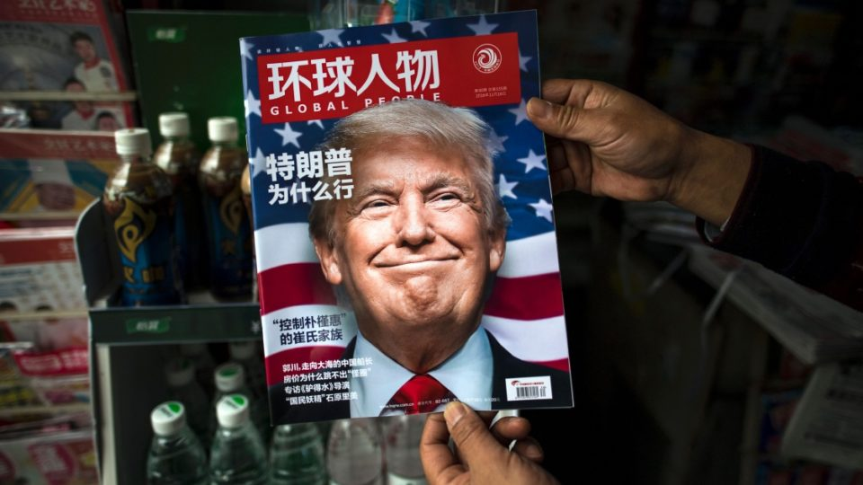 Donald Trump magazine cover