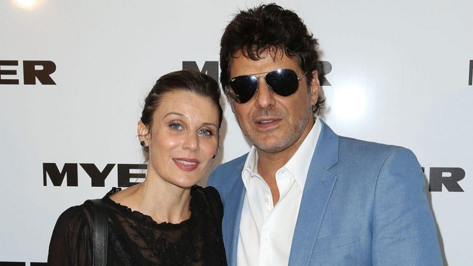 Diana Glenn  with ex-boyfriend Vince Colosimo