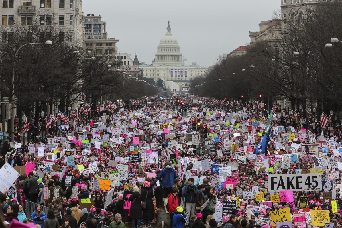 trump women march