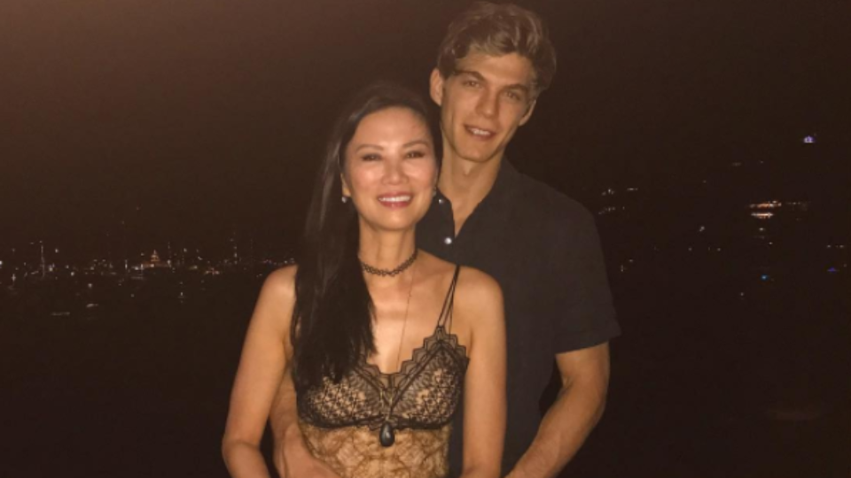 Wendi Deng spent New Year's Eve with her new boyfriend, a Hungarian ...