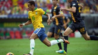 All eyes will be on Neymar as the Socceroos take on Brazil in June.
