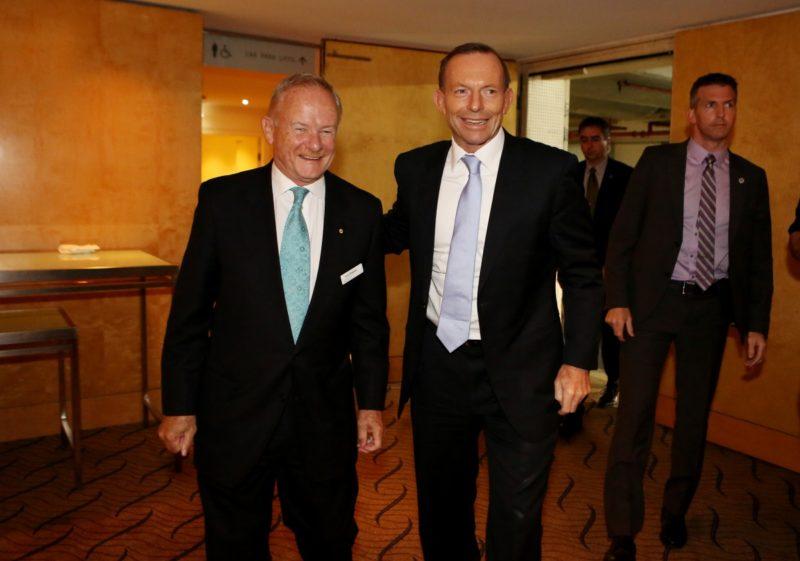 Tony Shepherd wanted a later start than Tony Abbott. Photo: AAP