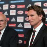 Former Essendon coach James Hird and former chairman Paul Little both appear in the    leaked recording.