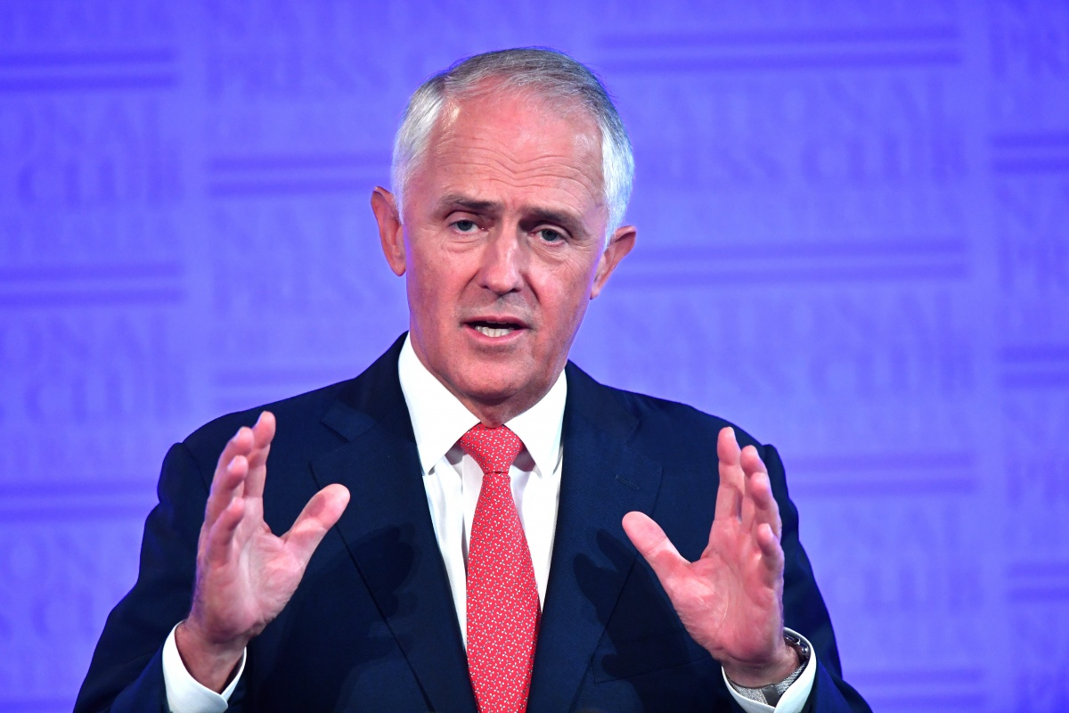 Malcolm Turnbull at the National Press Club