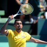 Nick Kyrgios Davis Cup victory