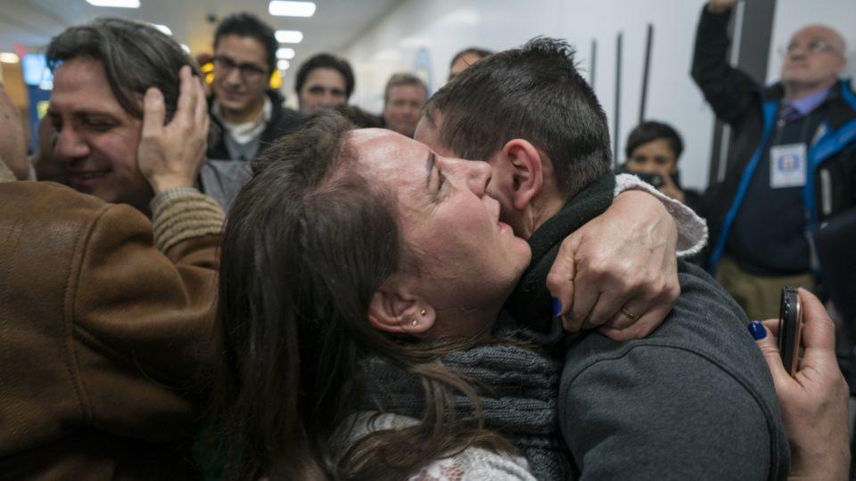 Travel ban Syria JFK airport