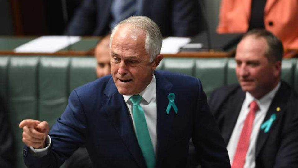 malcolm turnbull attacks Bill shorten