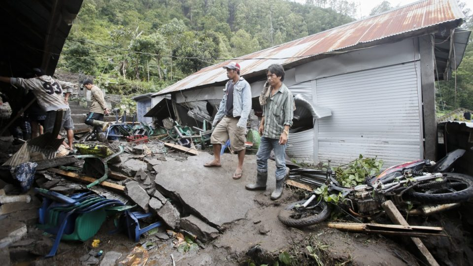 Landslides kill 12 in Indonesia's Bali, more rain expected