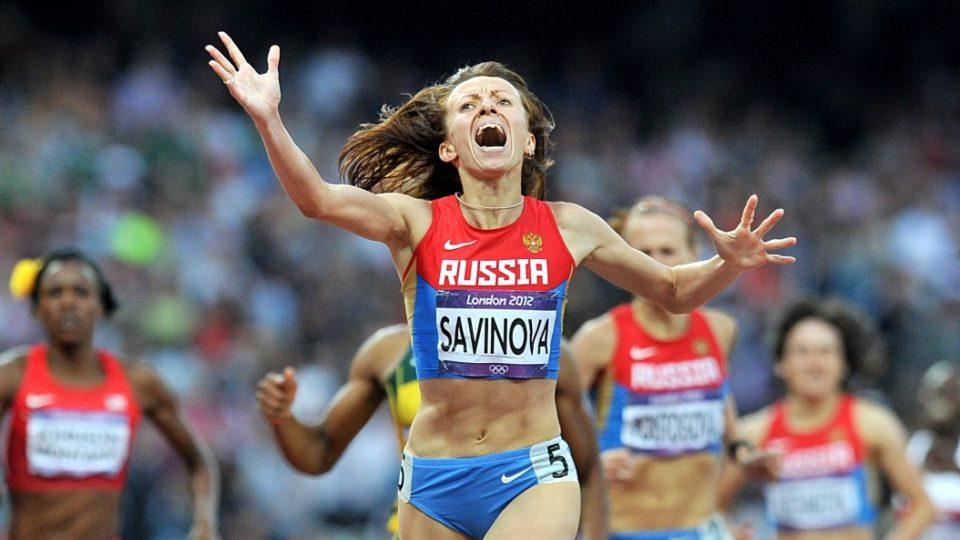 Mariya Savinova Russian doper