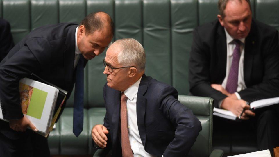 Malcolm Turnbull and Josh Frydenberg