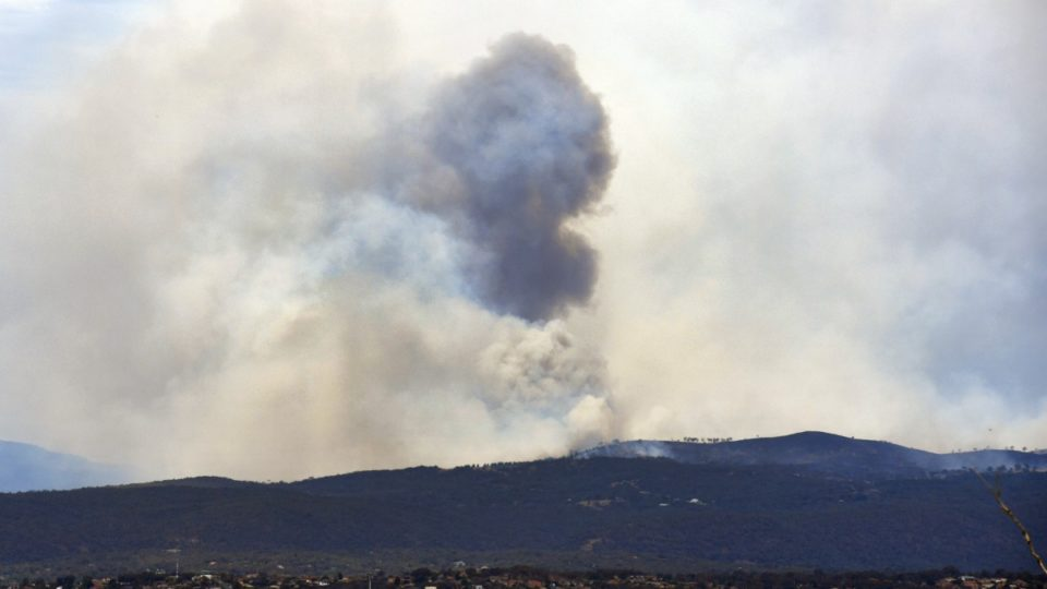 Police probe cause of devastating bushfire near Canberra; 11 homes lost