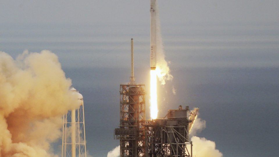 SpaceX Falcon rocket launch