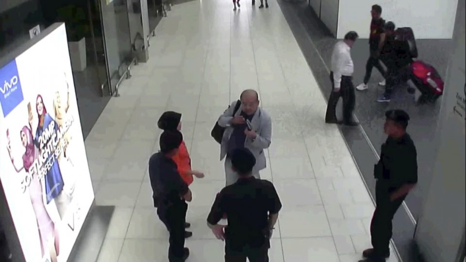 Police detain Korean cameraman covering Jong-nam murder