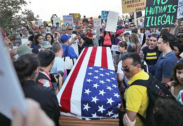 Trump protesters in Florida