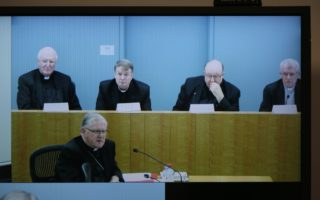 Australian Archbishops at the Royal Commission Child Sex Abuse i