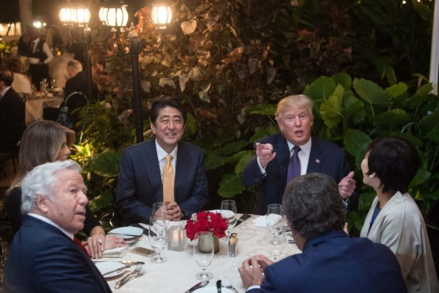 Donald Trump Shinzo Abe