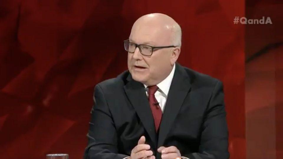 George Brandis blames Labor for Centrelink debt saga