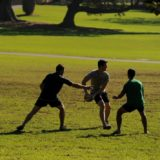 touch football Sydney Domain