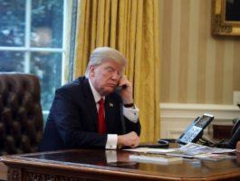 plebiscite Trump Turnbull phone call