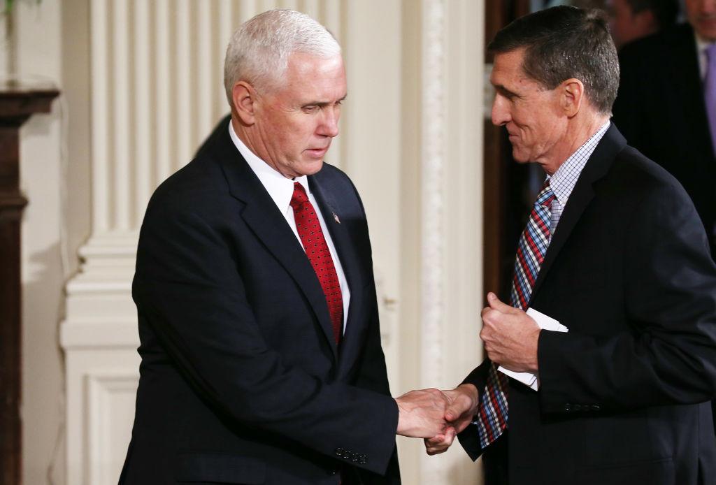 Michael Flynn resigns