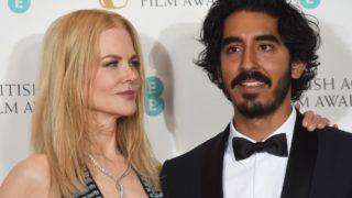 Nicole Kidman, Dev Patel at the Baftas