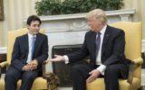 Donald Trump meets Justin Trudeau