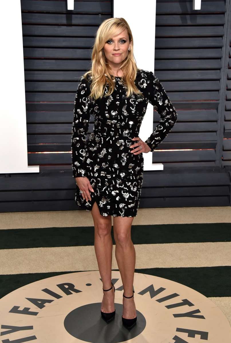 Reese Witherspoon kept it short so she could tear up the dance floor.