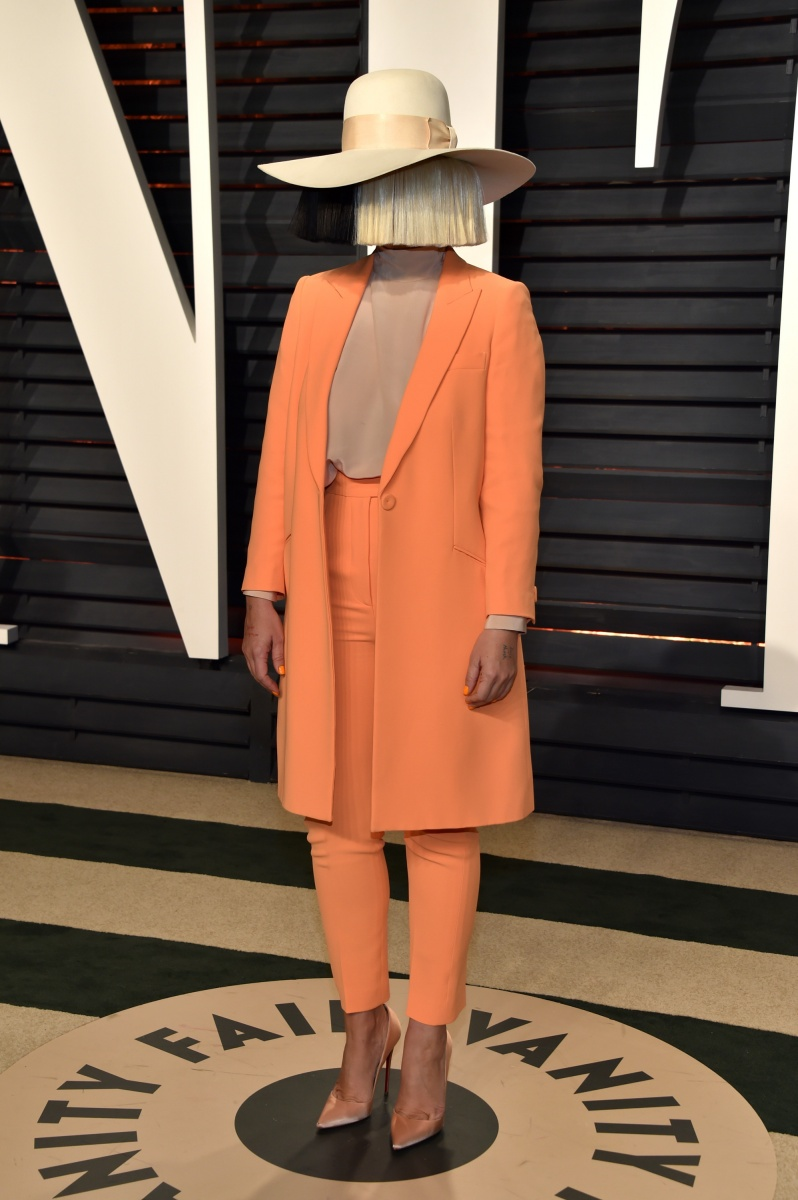 Singer Sia can never be accused of being boring.