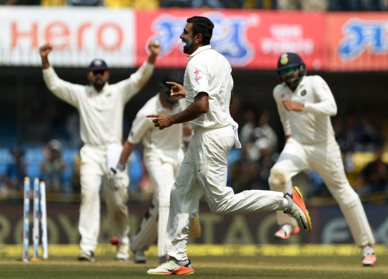 Ravi Ashwin captured 28 wickets against England late last year.