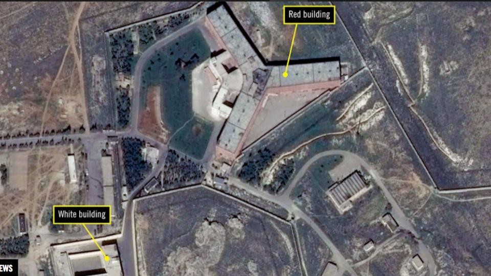 Sednaya military prison Syria