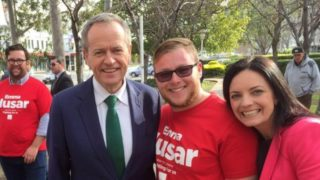Trent Hunter Bill Shorten
