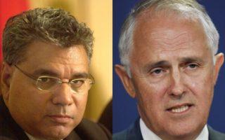 Warren Mundine and Malcolm Turnbull