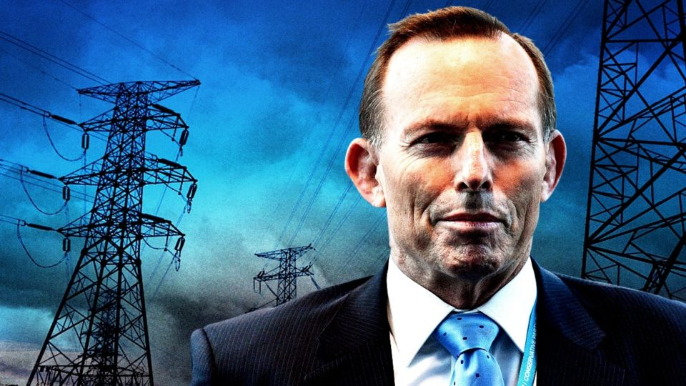 tony abbott electricity