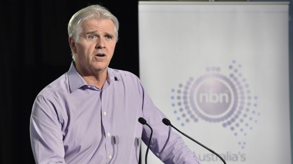 NBN boss Bill Morrow to step down after 'relentless' four years