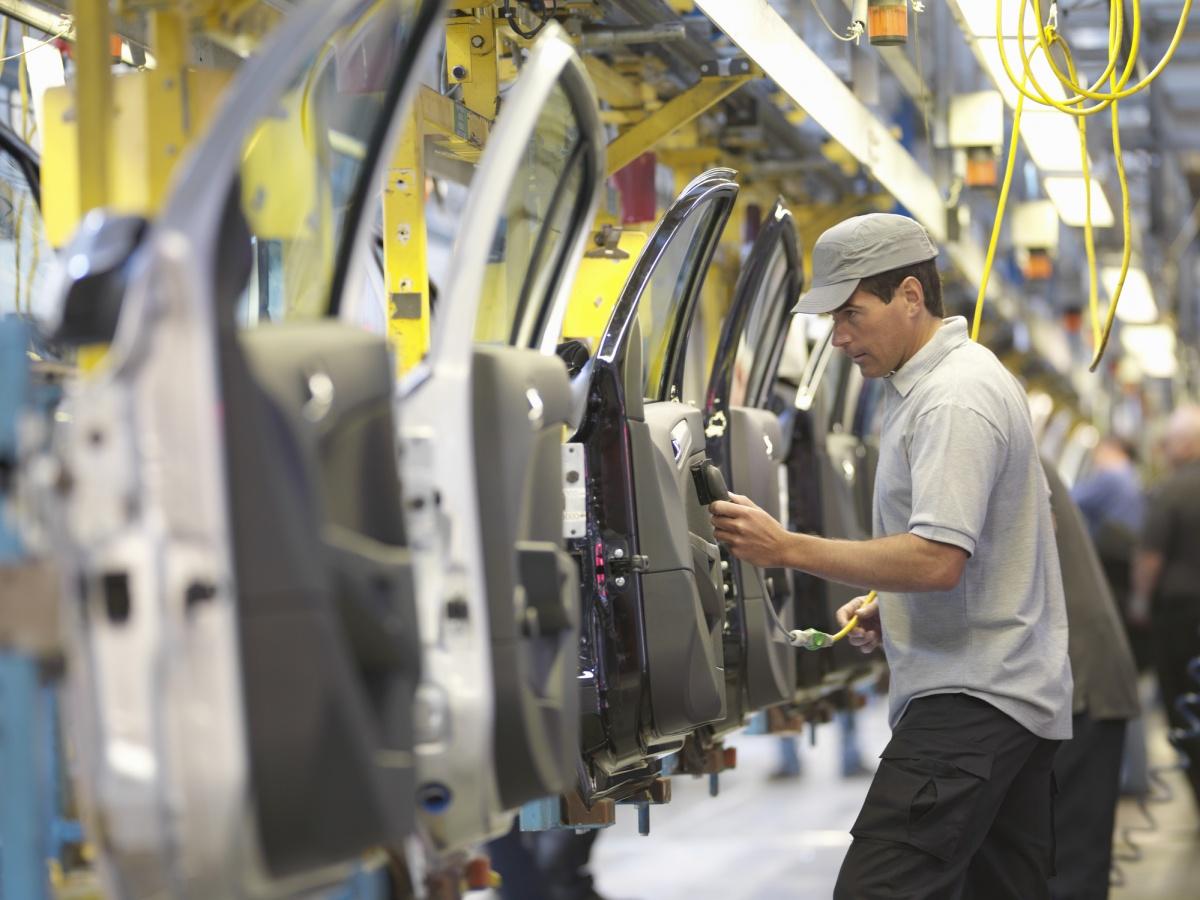 car manufacturing shut-down