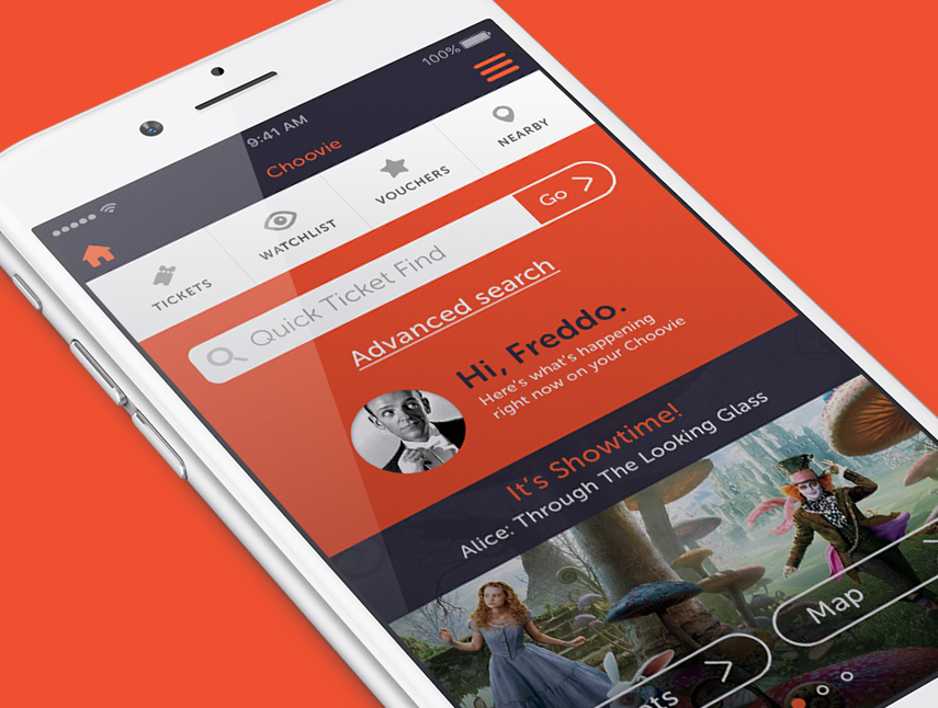 Choovie lets you find cheaper tickets based on how full the screening is.