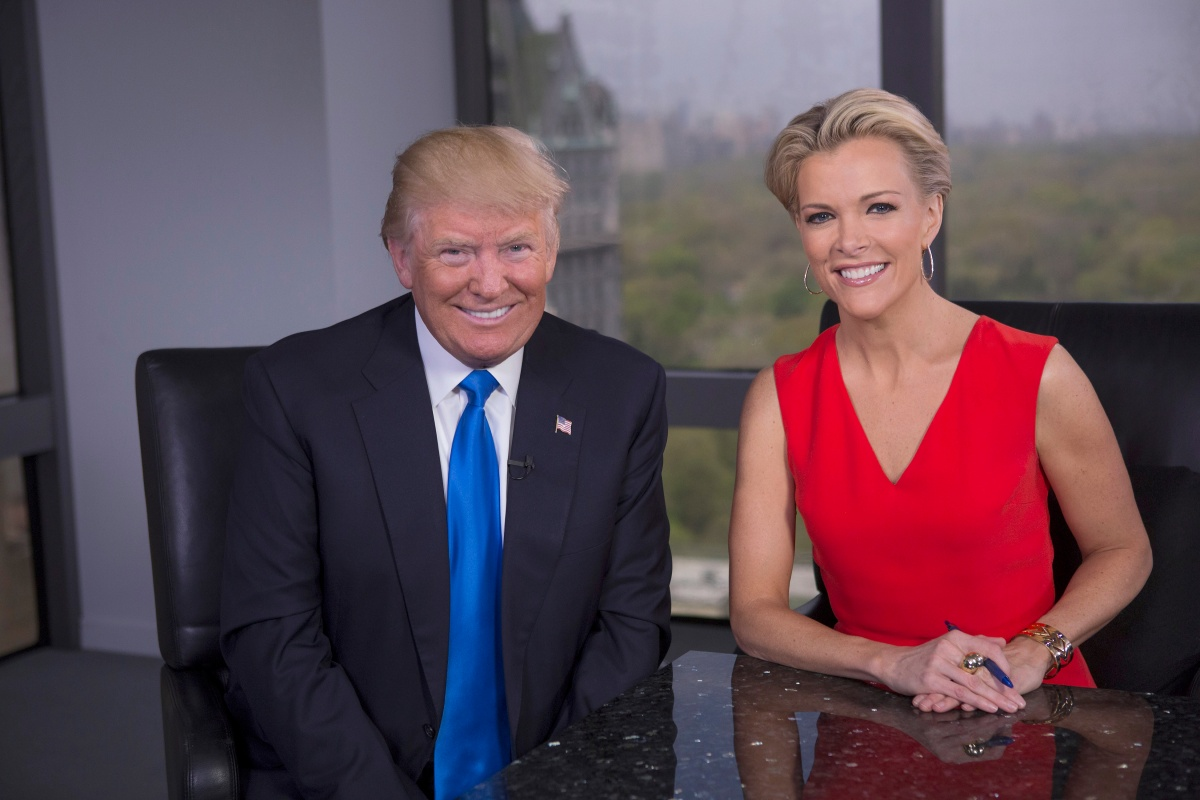 Donald Trump and Megyn Kelly sat down for an after not speaking for several months following the debate. Photo: Getty