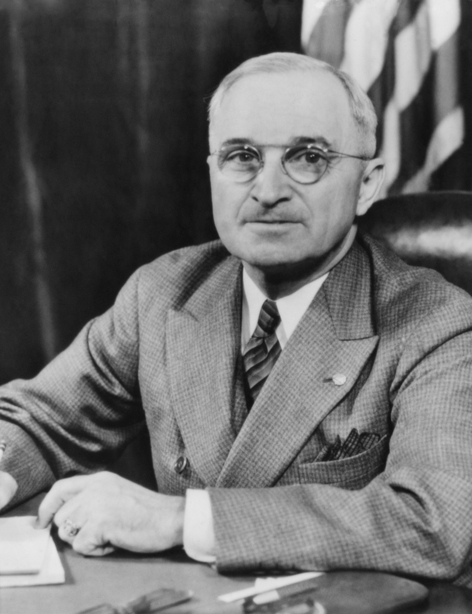 Former US president Harry Truman fired off a scathing attack in defence of his daughter on White House letterhead. Photo: Getty