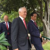 malcolm Turnbull and joko Widodo