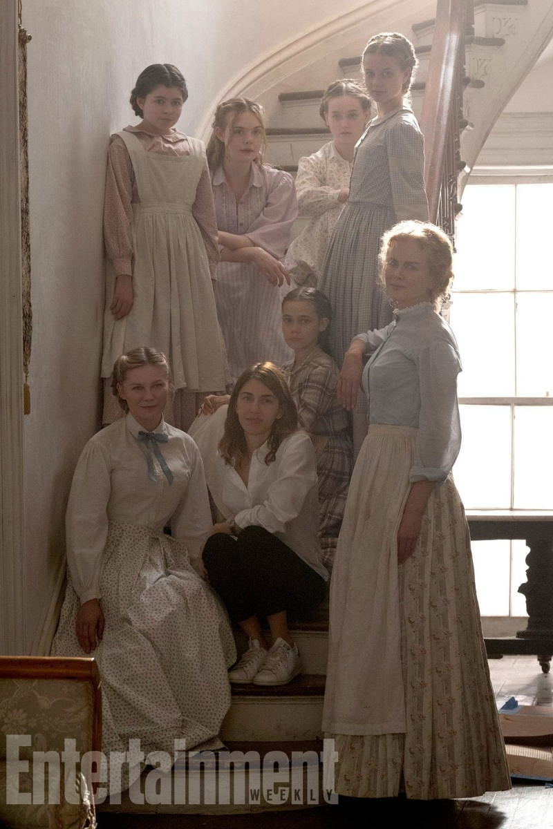 Angourie Rice (second from the right) in The Beguiled, due out later this year. Photo: Entertainment Weekly