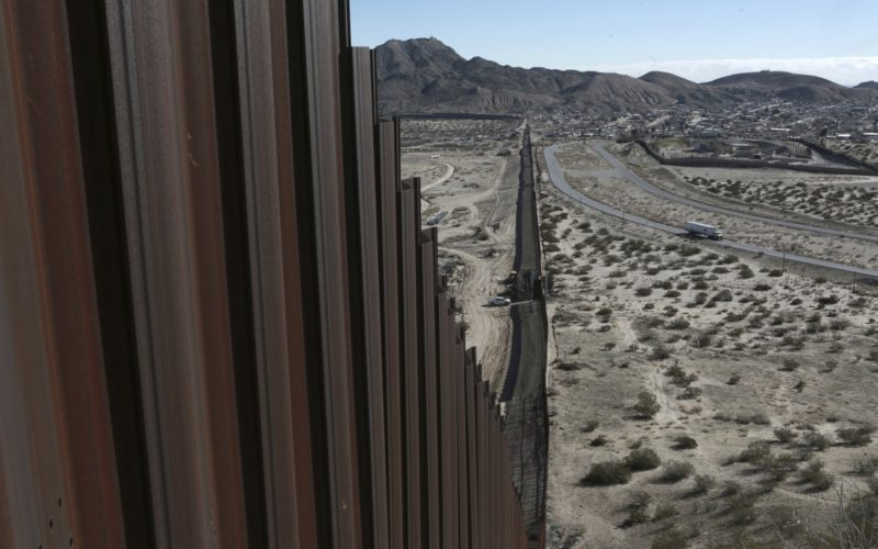 "President Donald J. Trump promised ""immediate construction"" would begin on the border wall"