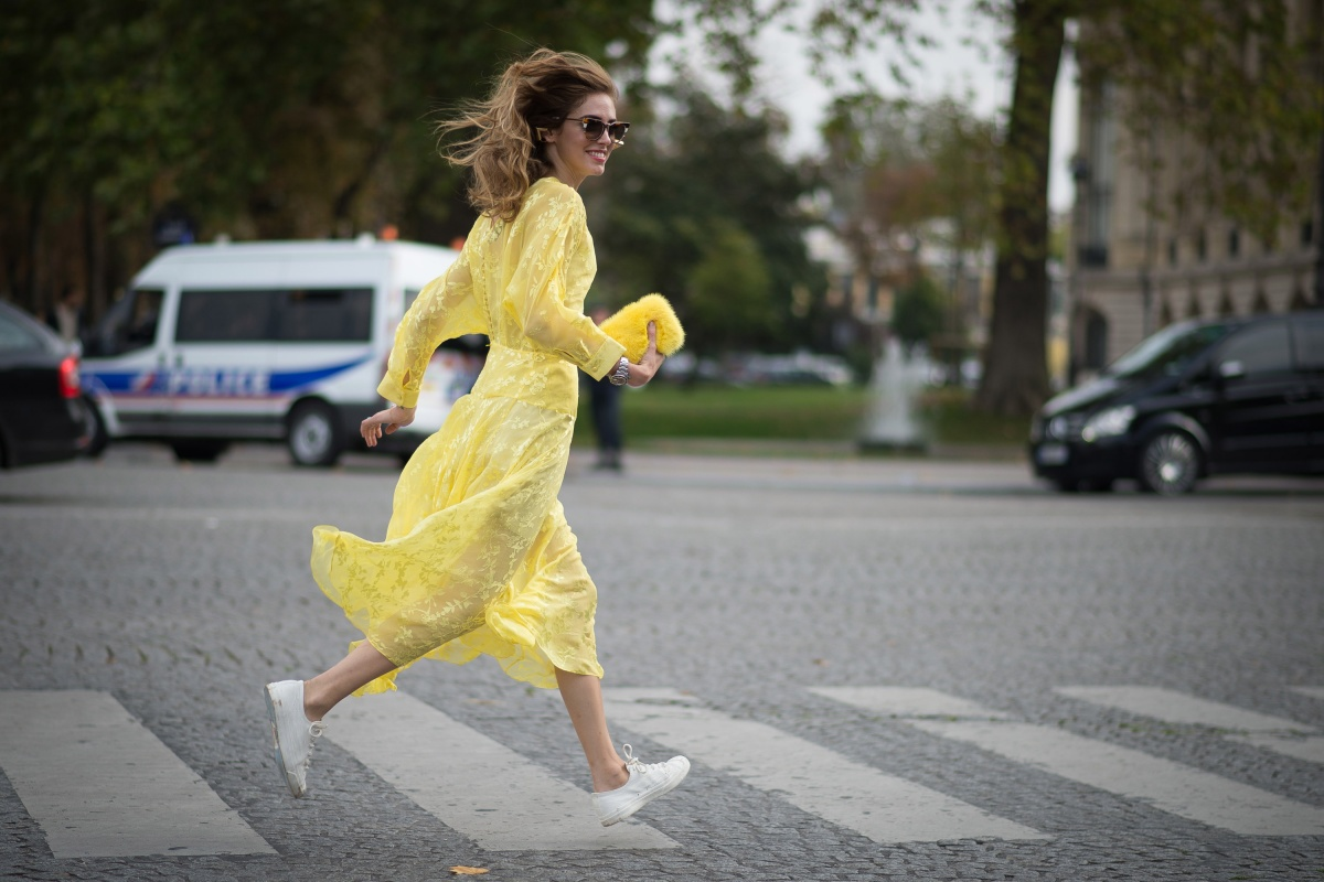 Wear your best dress to the supermarket if you feel like it. Photo: Getty
