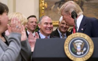 scott pruitt says CO2 not main cause of climate change